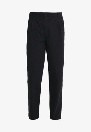 ASSEMBLY PANTS - Tygbyxor - black ripstop
