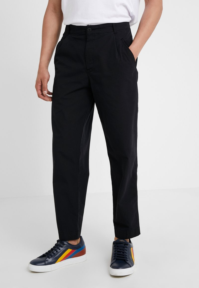 Folk - ASSEMBLY PANTS - Pantalon classique - black ripstop