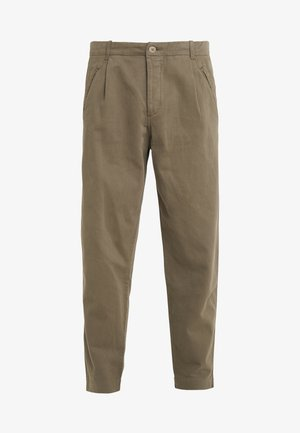 ASSEMBLY PANTS - Tygbyxor - soft green brushed