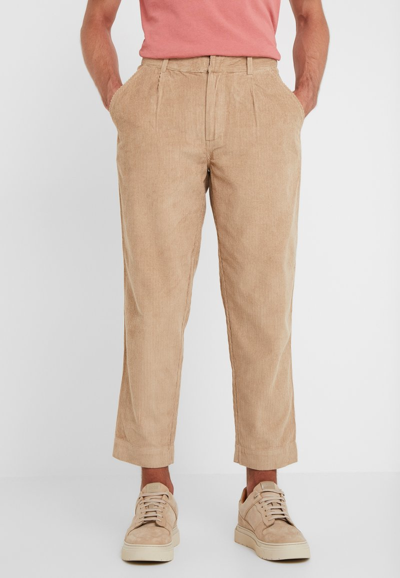 Folk - SIGNAL PANTS - Trousers - stone
