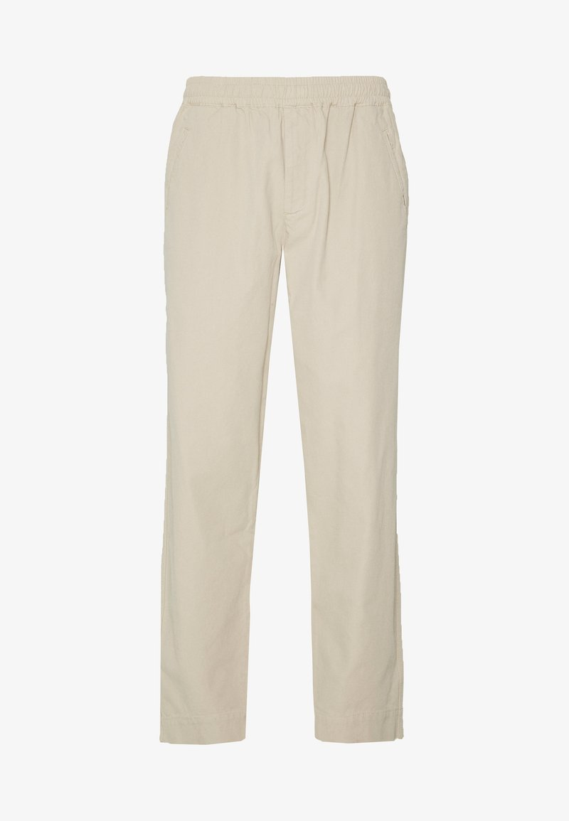 Folk - DRAWCORD ASSEMBLY PANTS - Trousers - stone