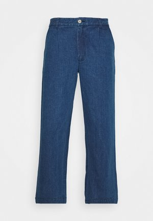 PLINTH PANT - Relaxed fit jeans - slub denim