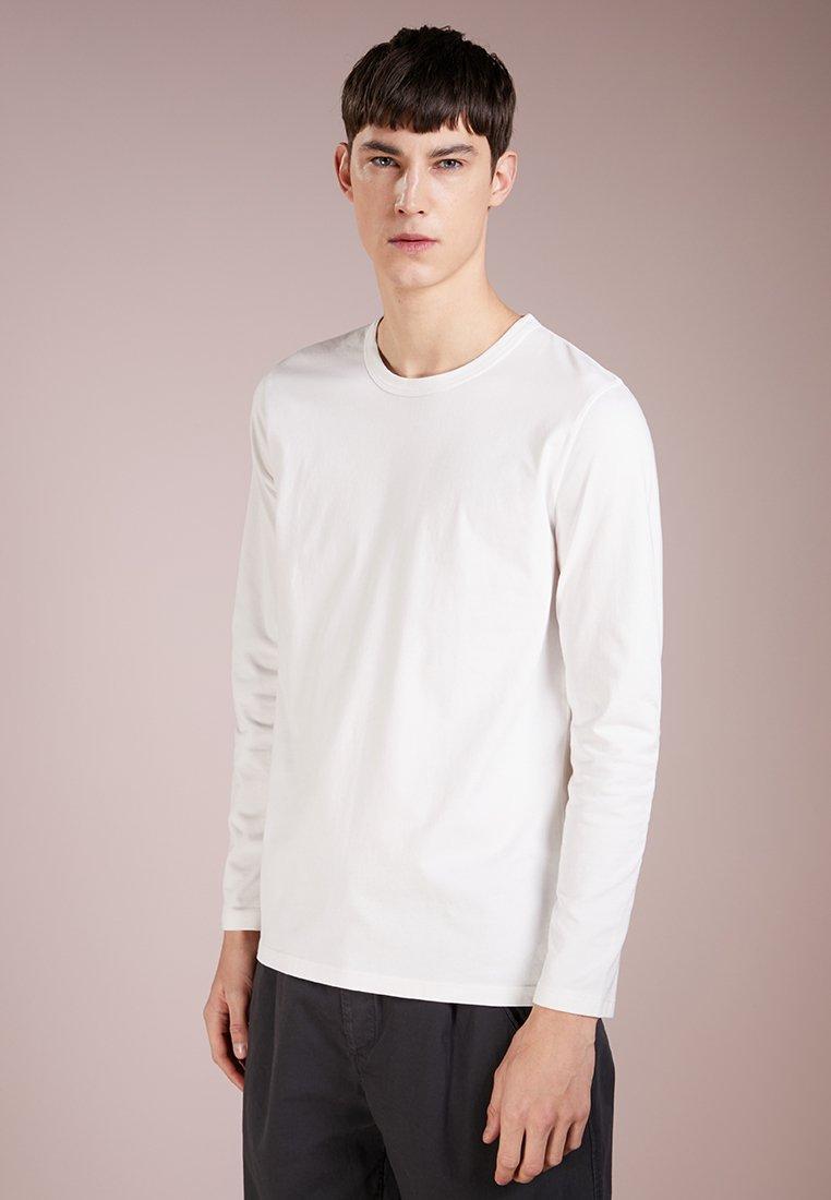 Folk - DEBOSS ELBOW  - Langarmshirt - white