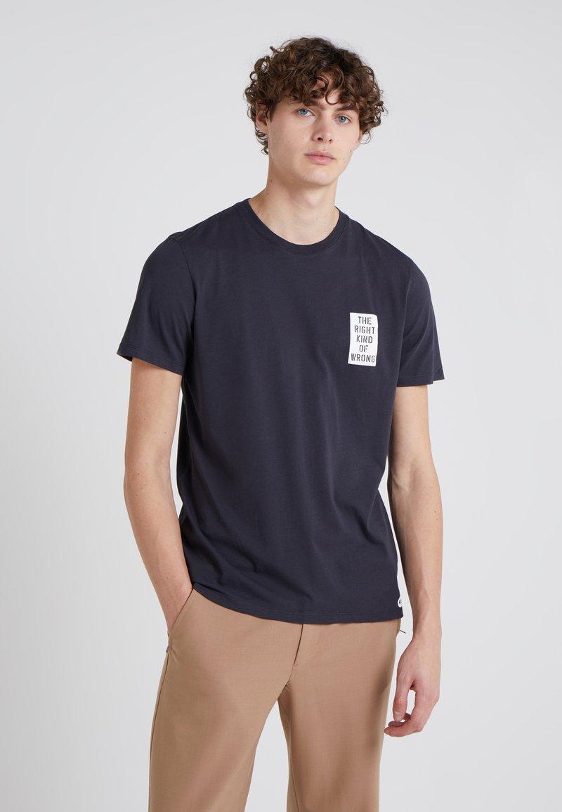 Folk - TEE - T-Shirt print - navy