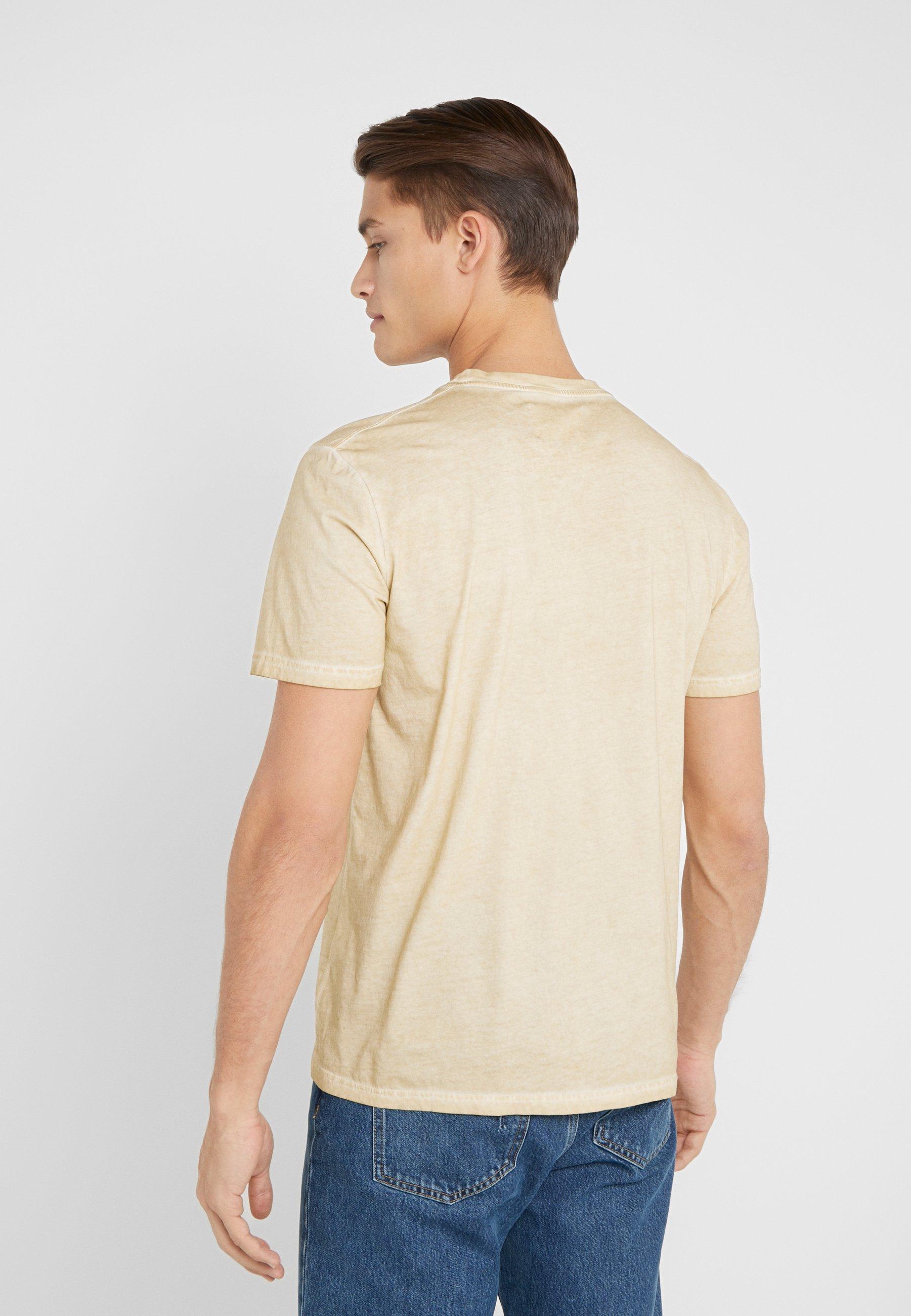 Folk COLD DYE ASSEMBLY TEE - T-shirt basic - fawn
