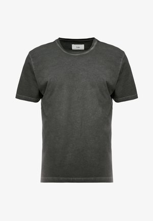 COLD DYE ASSEMBLY TEE - Basic T-shirt - black