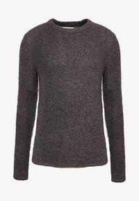 Folk - TEXTURED CREW - Pullover - black - 3