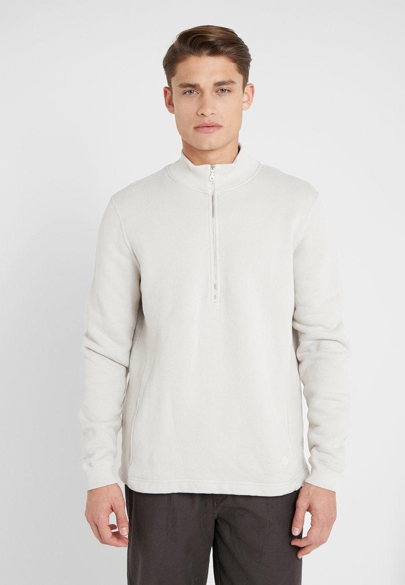 Folk - EVERYDAY FUNNEL - Sweatshirt - stone