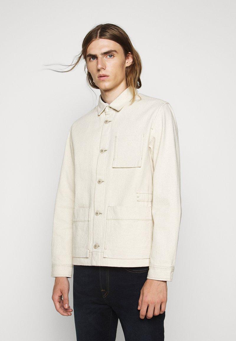 Folk - PLINTH JACKET - Summer jacket - ecru