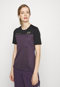 Fox Racing - WOMENS FLEXAIR  - T-Shirt print - dark purple - 0
