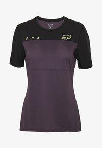 Fox Racing - WOMENS FLEXAIR  - T-Shirt print - dark purple - 4