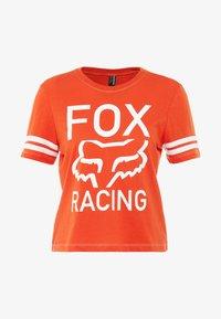 Fox Racing - ESTABLISHED TEE - T-Shirt print - orange - 3