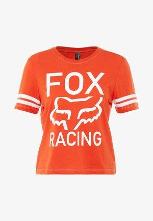 ESTABLISHED TEE - T-Shirt print - orange