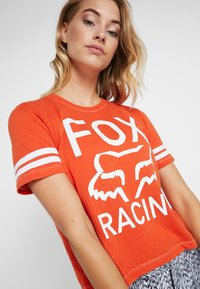 Fox Racing - ESTABLISHED TEE - T-Shirt print - orange - 4