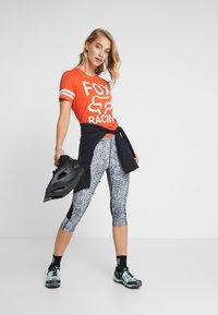 Fox Racing - ESTABLISHED TEE - T-Shirt print - orange - 1