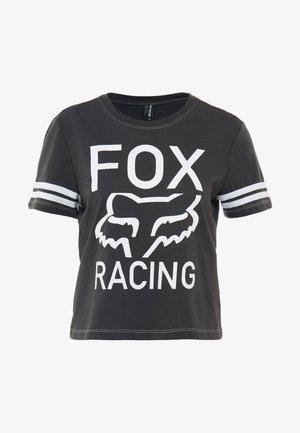 ESTABLISHED TEE - T-shirts med print - dark grey
