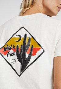 Fox Racing - MOJAVE TEE - Camiseta estampada - white