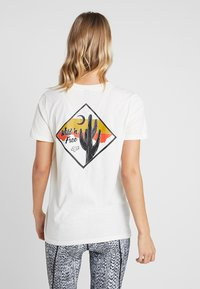 Fox Racing - MOJAVE TEE - T-Shirt print - white