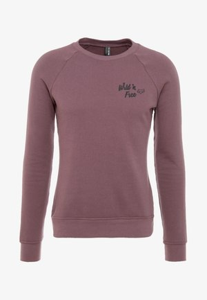WILD FREE CREW  - Sweatshirt - purple