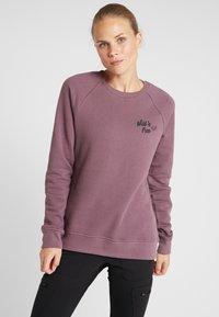 Fox Racing - WILD FREE CREW  - Sweatshirt - purple - 0