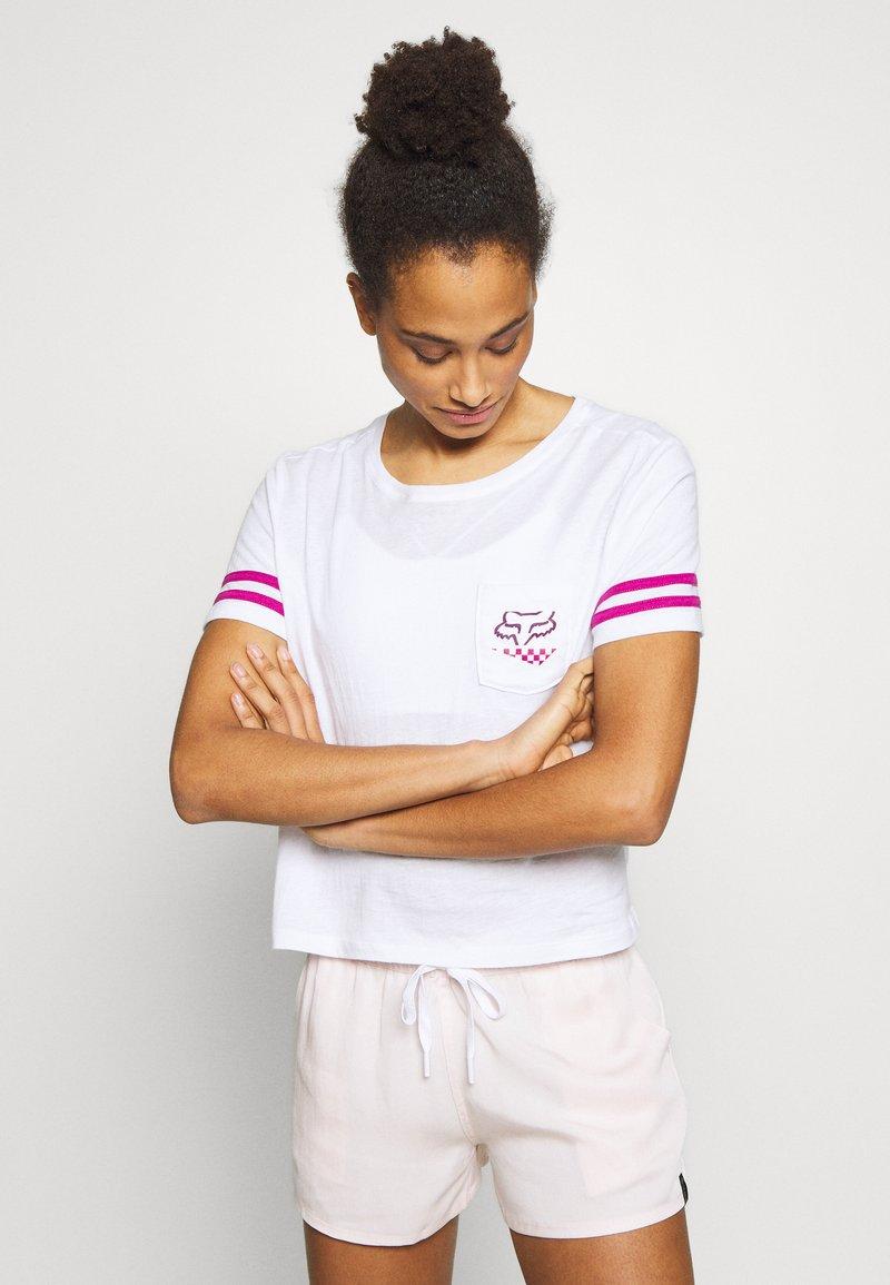 Fox Racing - RALEIGH  - T-Shirt print - white