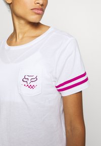 Fox Racing - RALEIGH  - T-Shirt print - white - 4