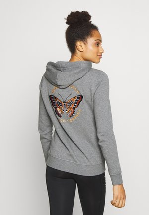 FLUTTER  - Jersey con capucha - mottled grey