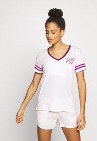 Fox Racing - HERITAGE FORGER - T-Shirt print - light pink - 0