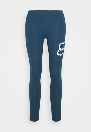 ENDURATION LEGGING - Legginsy - blue/white