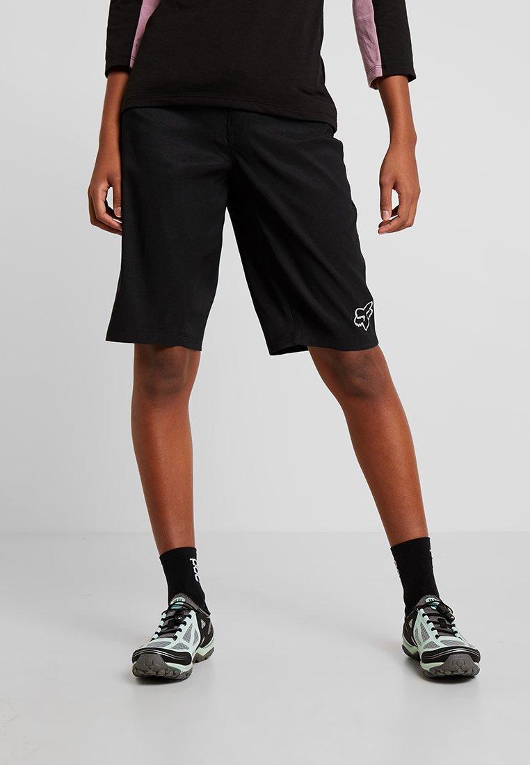 Fox Racing - WOMENS RANGER SHORT - kurze Sporthose - black