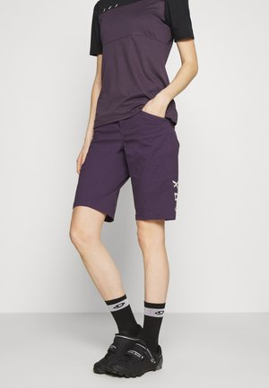 RANGER 2-IN-1 - Friluftsshorts - dark purple