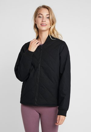 COSMIC BOMBER - Chaqueta outdoor - black