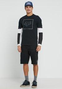 Fox Racing - CHAPPED AIRLINE TEE - T-Shirt print - black - 1
