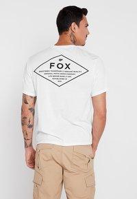 Fox Racing - MANIFEST TECH TEE - T-Shirt print - white - 2