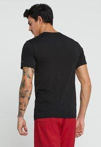 Fox Racing - GLOBAL TECH TEE - T-Shirt print - black - 2