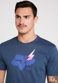 Fox Racing - HELLION PREMIUM TEE - T-Shirt print - navy - 3