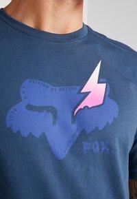 Fox Racing - HELLION PREMIUM TEE - T-Shirt print - navy - 5