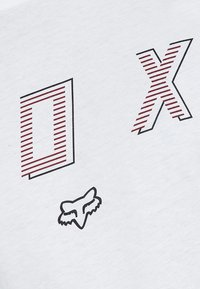 Fox Racing - BARRED PREMIUM TEE - T-Shirt print - optic white - 5