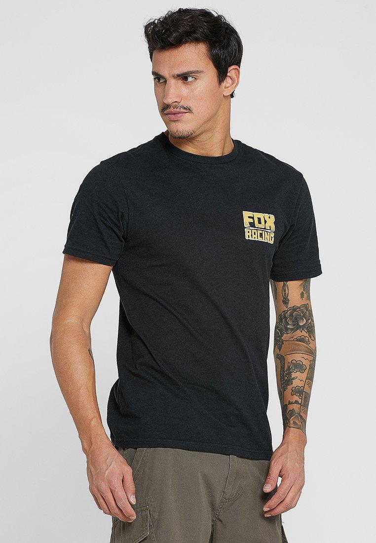Fox Racing - SLEEPER PREMIUM TEE - Print T-shirt - black