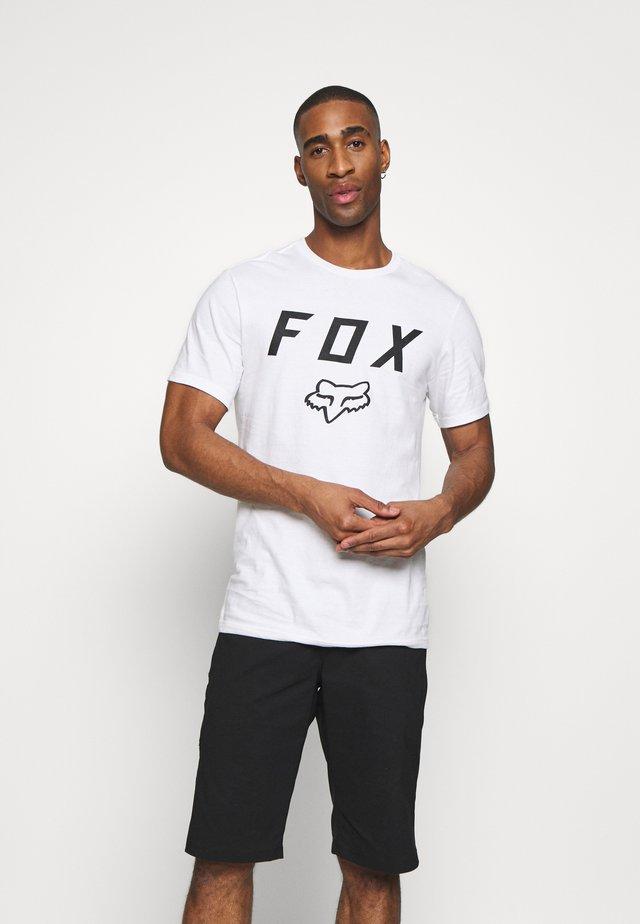 LEGACY MOTH TEE - Print T-shirt - white