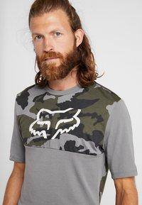 Fox Racing - RANGER DRI RELEASE - T-Shirt print - olive - 4