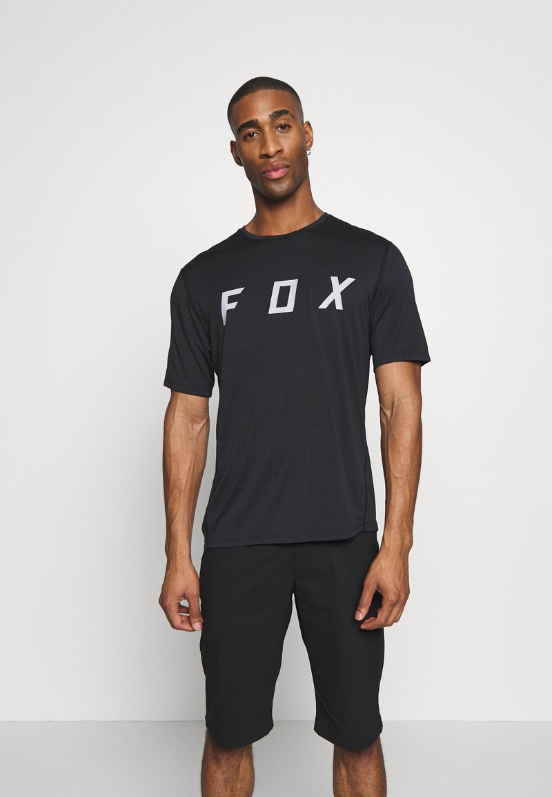 Fox Racing - RANGER  - T-Shirt print - black/grey