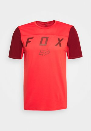 FLEXAIR MOTH - T-shirts print - bright red