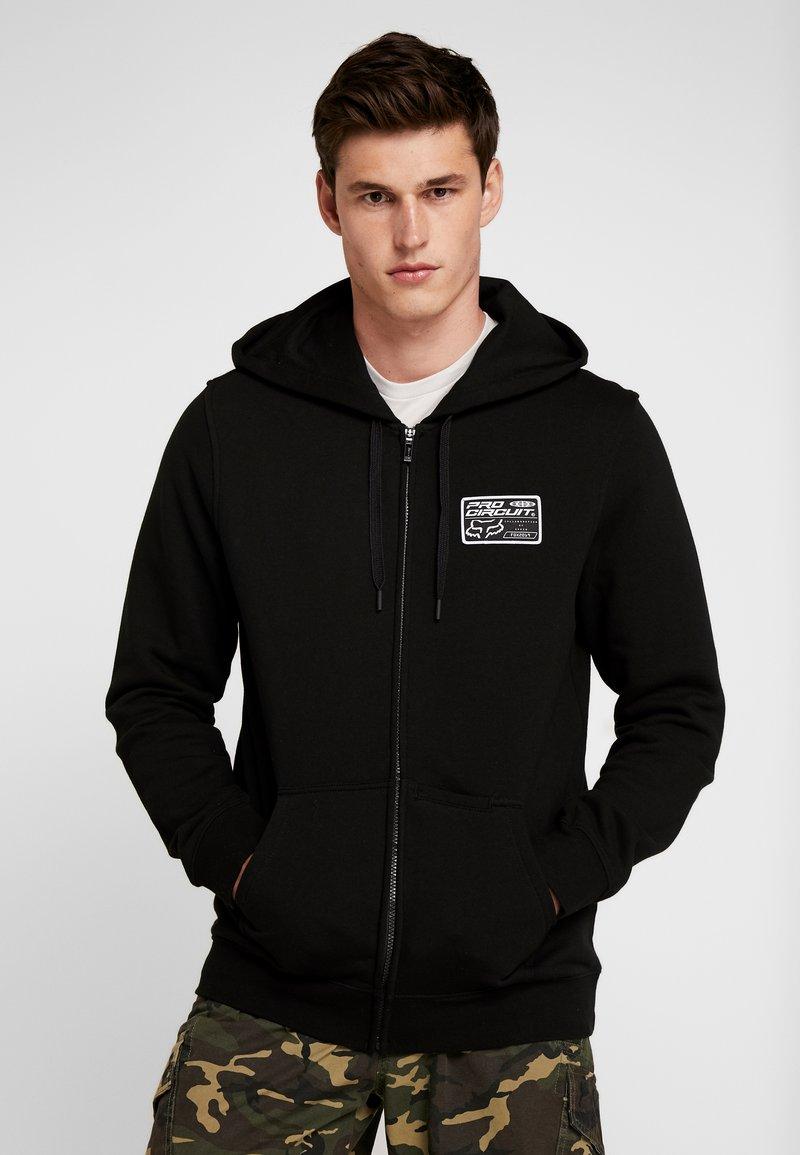 Fox Racing - PRO CIRCUIT ZIP - Zip-up hoodie - black