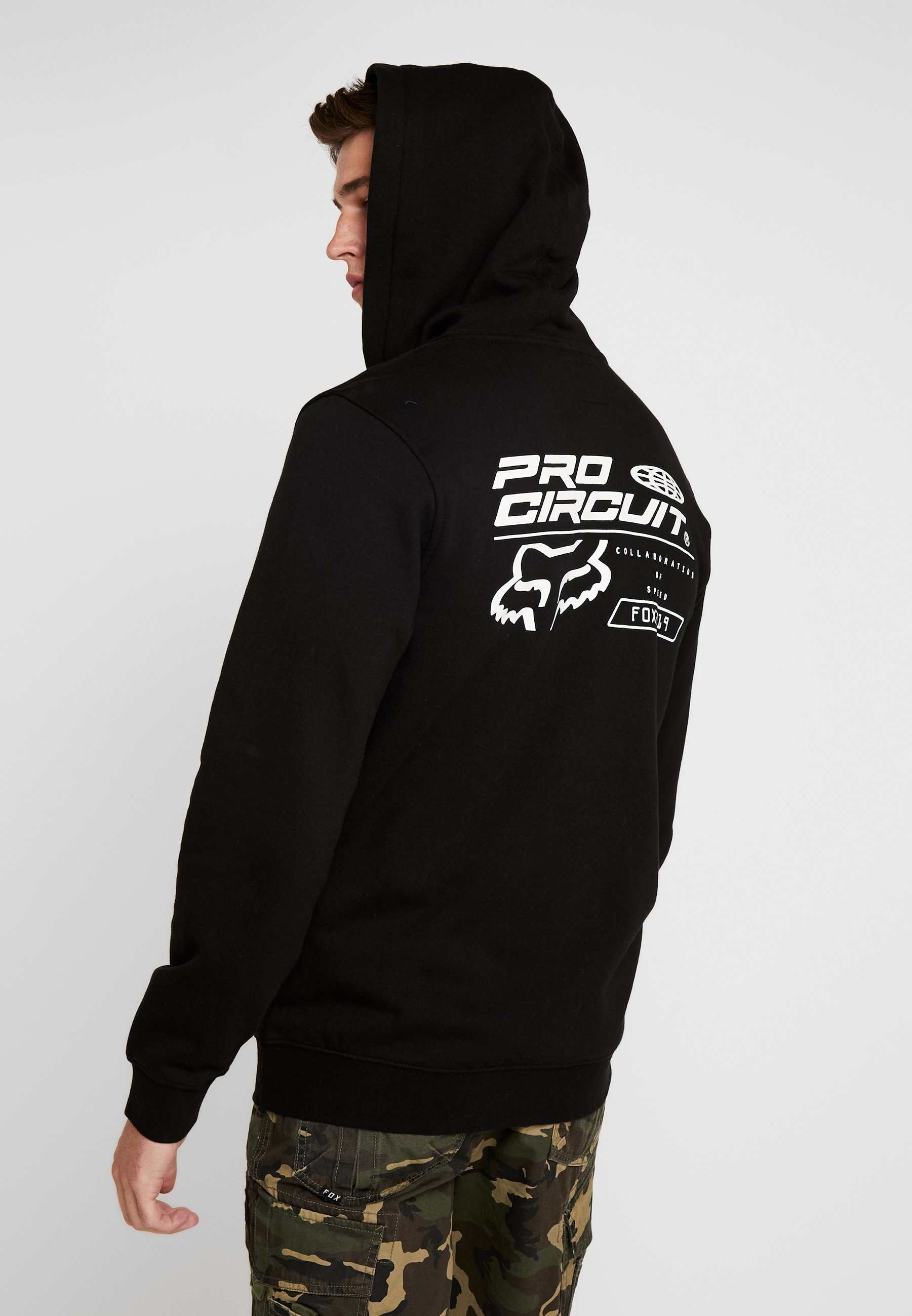 ZipVeste Fox Pro Zippée Black Racing Circuit Sweat En yNnw0vm8O