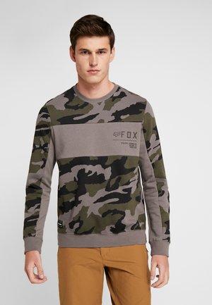 NON STOP CREW  - Sweatshirt - olive