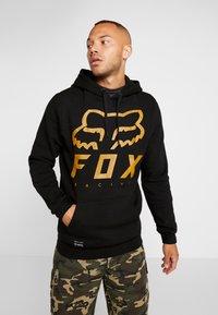Fox Racing - HERITAGE FORGER  - Kapuzenpullover - black - 0
