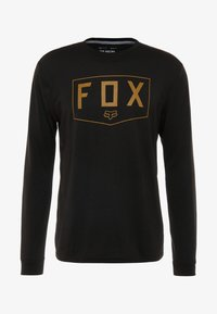Fox Racing - SHIELD TECH TEE - Sports shirt - black - 3