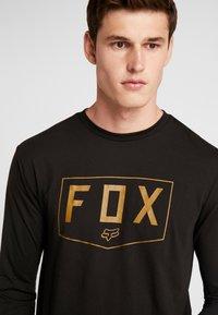 Fox Racing - SHIELD TECH TEE - Sports shirt - black - 4