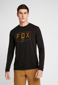 Fox Racing - SHIELD TECH TEE - Sports shirt - black - 0